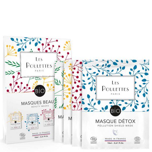 Les Poulettes - Coffret 4 masques - Discovery pack